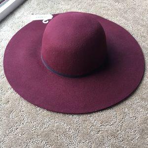 NWT Felt floppy hat